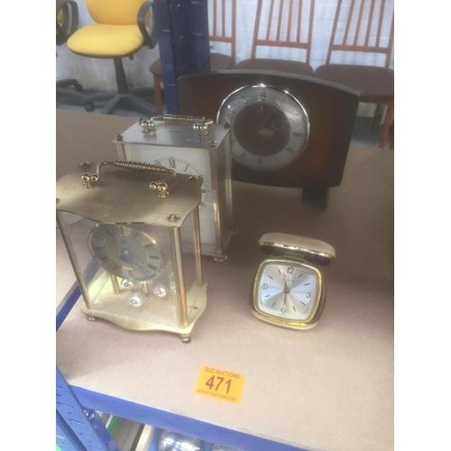 471 - Quantity of Clocks...
