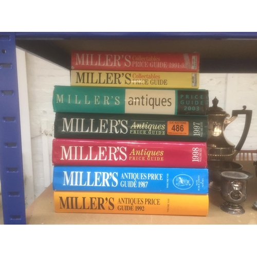 486 - Quantity of Millers Books...