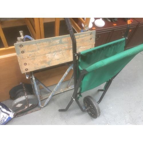 528 - Vintage Workmate, Extension & Wheelbarrow...