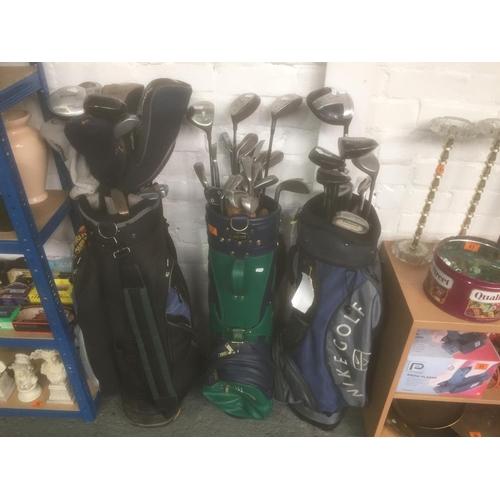 67 - 3 x Golf Clubs...