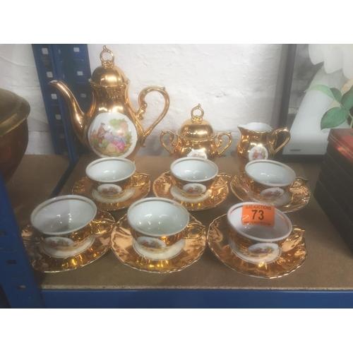 73 - Bondware Tea Set...