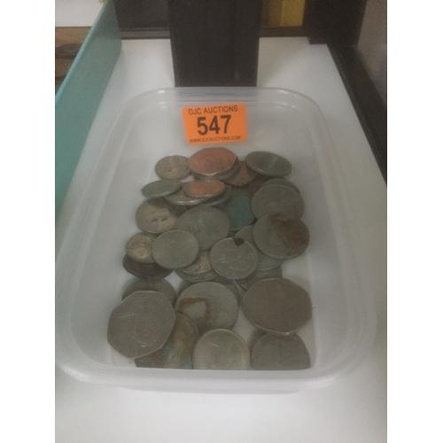 547 - Box of Decimal Coins...