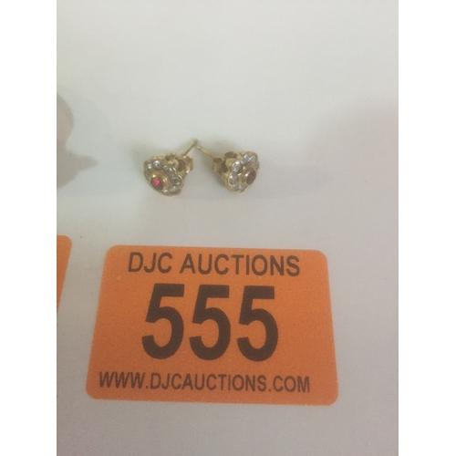 555 - Silver Earrings...