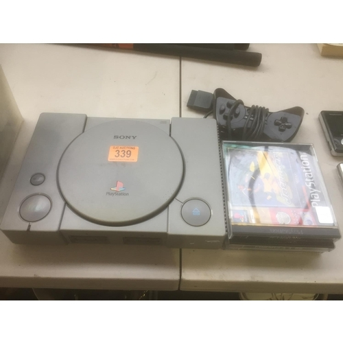 339 - PS1 & Games...