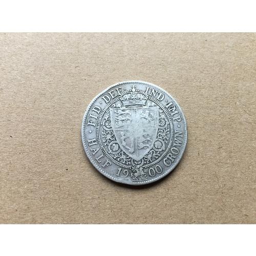 856 - Victoria Half Crown 1900...