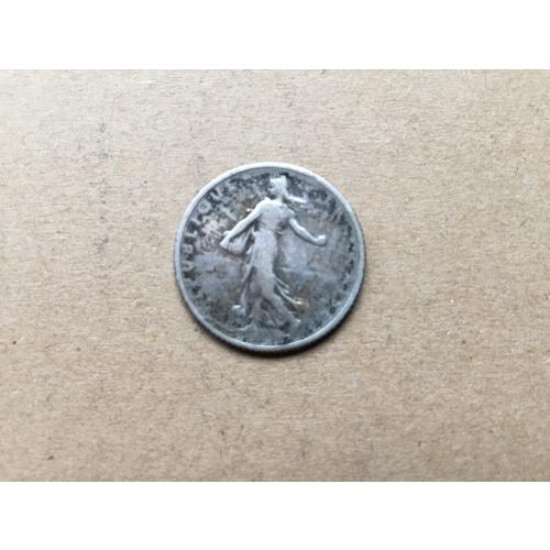 831 - Silver One Franc 1916...