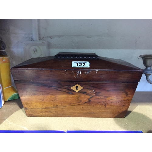 122 - Old Tea Caddy Box...
