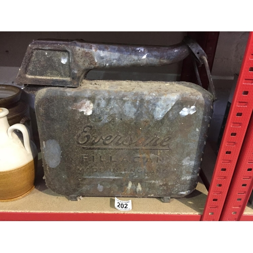 202 - Eversure Petrol Can...