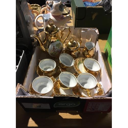 252 - Bondware Tea Set...