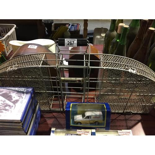 267 - Vintage Sportcraft Racket Case...
