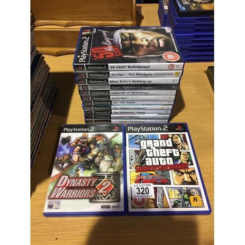320 - Quantity of PS2 Games...