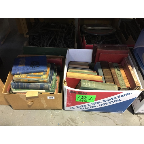 328 - 2 x Boxes of Old Books...