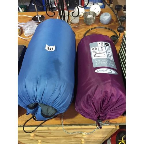 341 - 2 x Sleeping Bags...