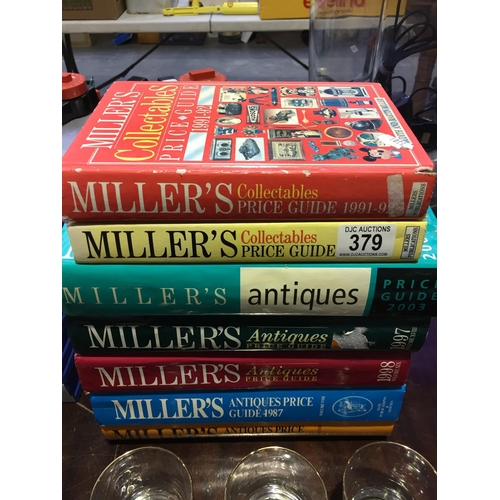 379 - Quantity of Millers Books...
