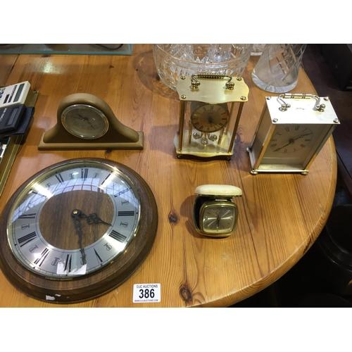 386 - Quantity of Clocks, etc...