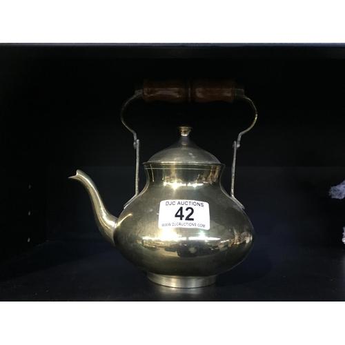 42 - Brass Kettle...