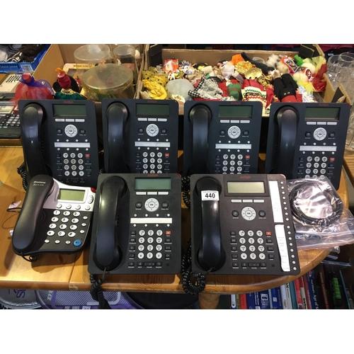 440 - Quantity of Telephones...