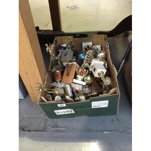 451 - Box of Trophies...