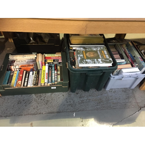 455 - 3 x Boxes of Military Books...