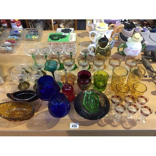 456 - Quantity of Glassware...