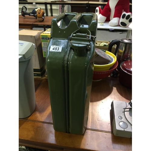 483 - 20L Metal Petrol Can...