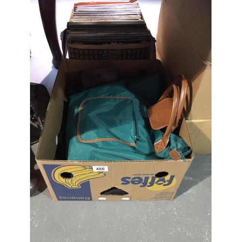 486 - Box of Bags...