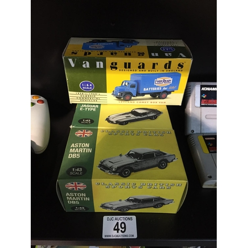 49 - 3 x Collectors Cars - Boxed...