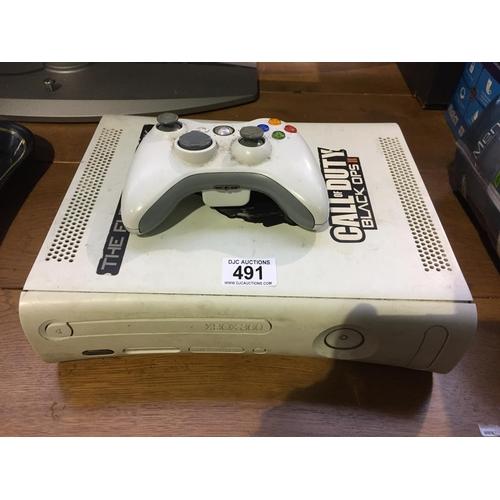 491 - Xbox Console & Controller...