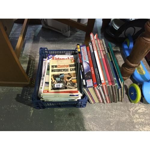 510 - Quantity of Motoring Books...