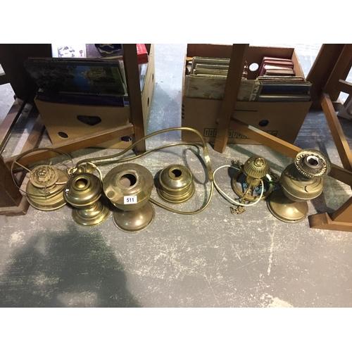 511 - Quantity of Brassware...