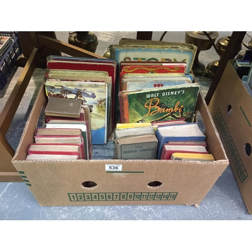 536 - Box of Old Books...