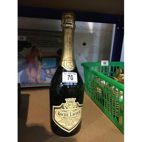 70 - Roche Lacour 1990 - Sealed Bottle...