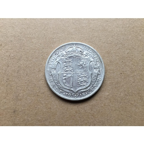 855 - George V Half Crown 1918...