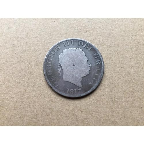 862 - George III Half Crown 1817...