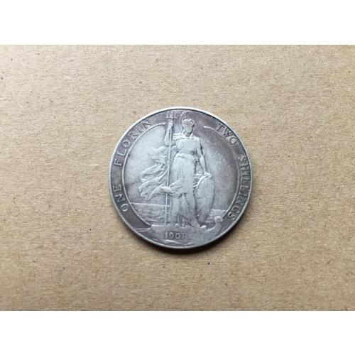 767 - Edward VII One Florin 1908...