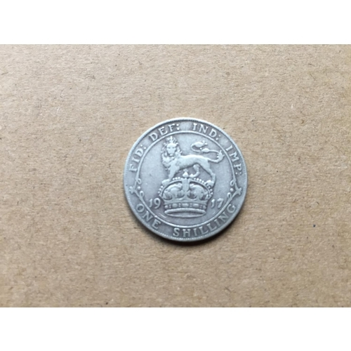 777 - George V One Shilling 1917...