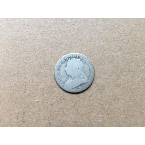 799 - Victorian Sixpence 1899...
