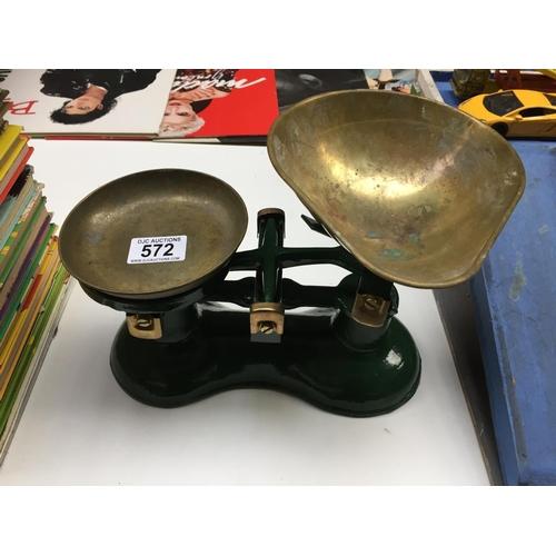 572 - Vintage Weighing Scales...