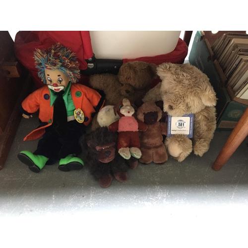 581 - Quantity of Soft Toys...