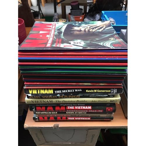 625 - Quantity of Vietnam War Magazines/Books...