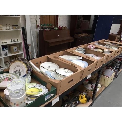 651 - 7 x Boxes of China, Ceramics, etc...
