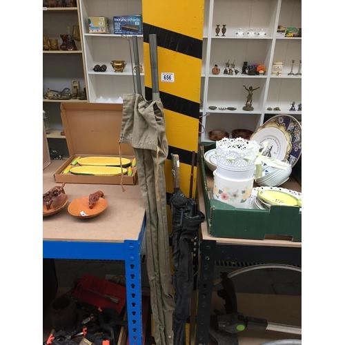 656 - 2 x Fishing Rods...