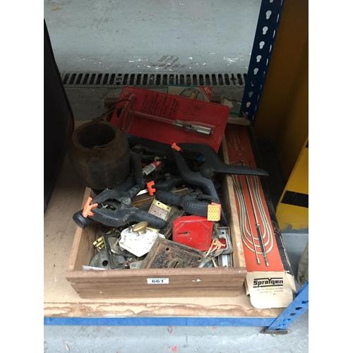 661 - Box of Tools, etc...