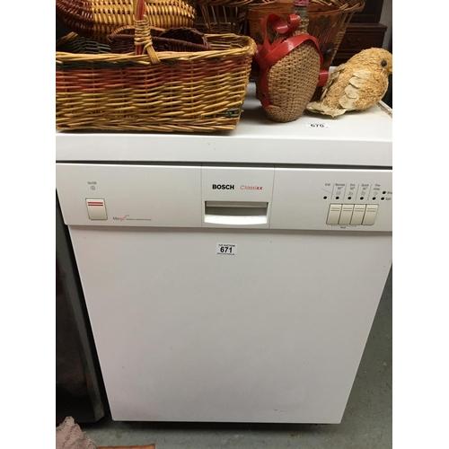 671 - Bosch Classix Dishwasher...