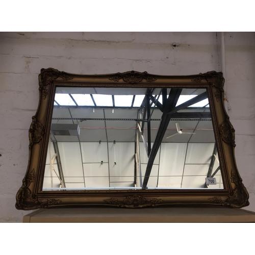 700 - Large Gilt Framed Mirror...