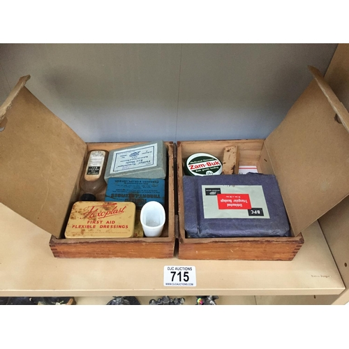 715 - Old First Aid Kit...