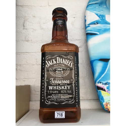 718 - Large Jack Daniels Money Box...