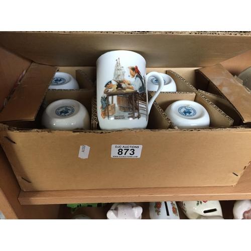 873 - 6 x New Mugs...