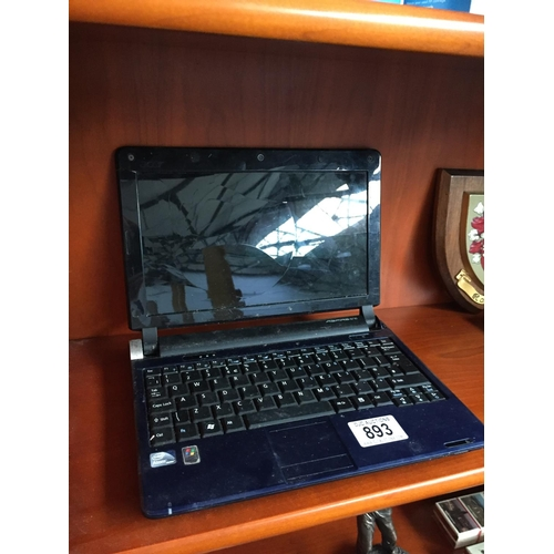 893 - Notebook Laptop - Spares...