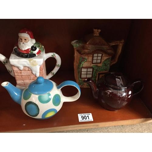 901 - Quantity of Tea Pots...